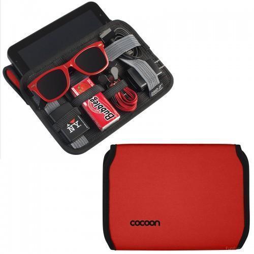 Универсальный чехол-органайзер Cocoon Grid-it для планшета 7(красный)Универсальные чехлы<br>Универсальный чехол-органайзер Cocoon Grid-it для планшета 7(красный)<br>