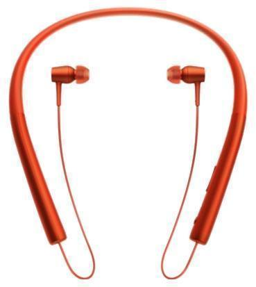 Беспроводные Bluetooth cтерео-наушники Sony MDR-EX750BT Red