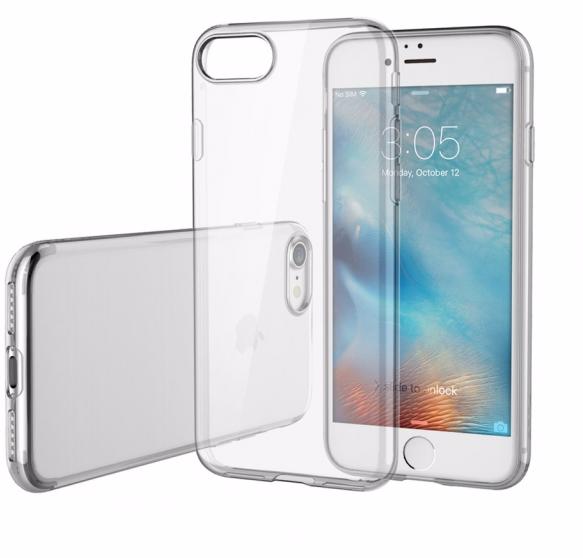 Купить Чехол-накладка ультратонкий 0.3mm для Apple iPhone 7/8 силиконовый прозрачный