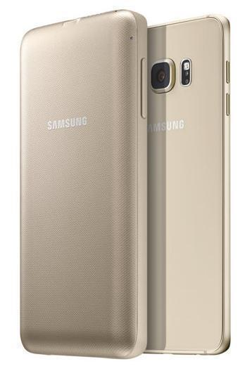 Купить Чехол-аккумулятор Samsung 3400 mAh для Galaxy S6 Edge Plus пластик (золотой) (EP-TG928BFRGRU)