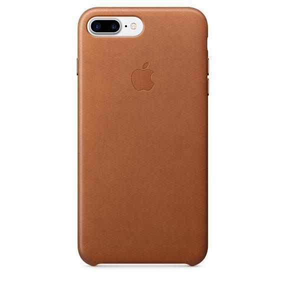 Чехол-накладка under Leather Case для Apple iPhone 7 Plus натуральная кожа светло-коричневый