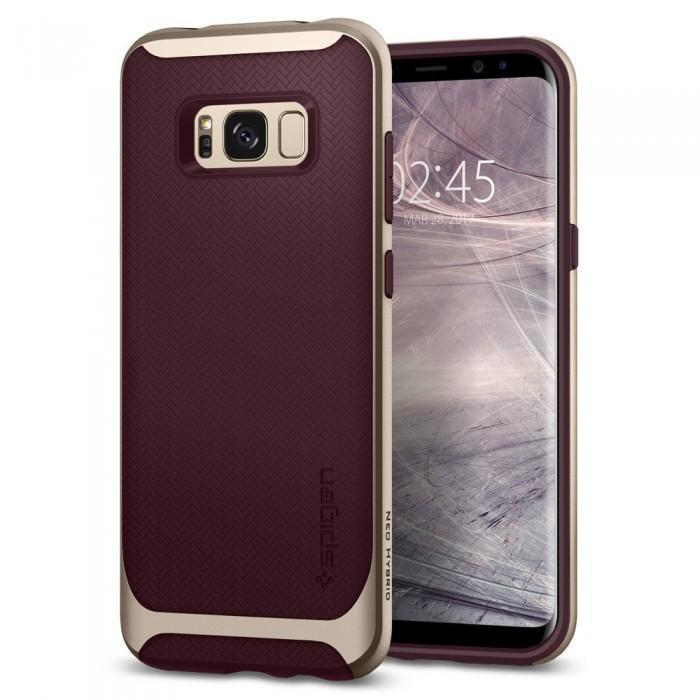 Чехол-накладка Spigen Neo Hybrid для Samsung Galaxy S8 бордовый (SGP 565CS21597)для Samsung<br>Чехол-накладка Spigen Neo Hybrid для Samsung Galaxy S8 бордовый (SGP 565CS21597)<br>