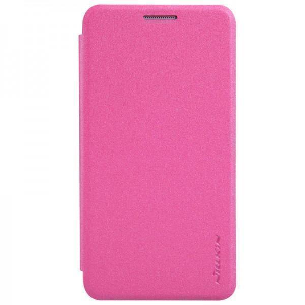 Чехол-книжка Nillkin Sparkle Series для Samsung Galaxy A3 (SM-A300) пластик-полиуретан розовыйдля Samsung<br>Чехол-книжка Nillkin Sparkle Series для Samsung Galaxy A3 (SM-A300) пластик-полиуретан розовый<br>