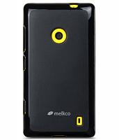 Купить Чехол-накладка Melkco Poly Jacket TPU для Nokia 820 (силиконовый) (black)