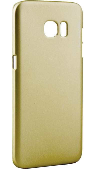 Чехол-накладка Deppa Sky Case для Samsung Galaxy S6 пластиковый+защитная пленка (золотой) фото