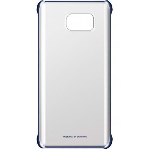 Чехол-накладка Samsung Clear Cover для Galaxy Note 5 пластик прозрачный-черный EF-QN920CBEGRUдля Samsung<br>Чехол-накладка Samsung Clear Cover для Galaxy Note 5 пластик прозрачный-черный EF-QN920CBEGRU<br>