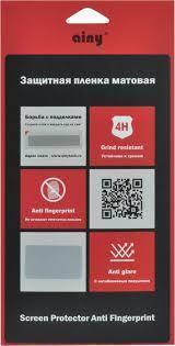 Защитная пленка Ainy Screen Protector Anti Fingerprint  для Sony Xperia E1 (матовая)для Sony<br>Защитная пленка Ainy Screen Protector Anti Fingerprint  для Sony Xperia E1 (матовая)<br>