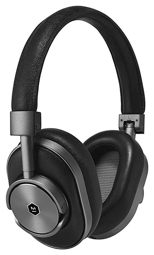 Беспроводные Bluetooth cтерео-наушники Master & Dynamic MW60 Wireless Over-Ear Headphones (Black)