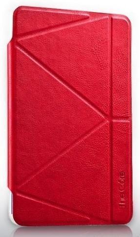 Чехол-книжка The Core Smart Case для Apple iPad mini 4 (силикон полиуретан с подставкой) красныйдля Apple iPad mini 4<br>Чехол-книжка The Core Smart Case для Apple iPad mini 4 (силикон полиуретан с подставкой) красный<br>