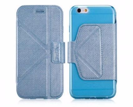 Чехол-книжка The Core Smart Case Ultra-slim (GCAPIP6B) для Apple iPhone 6/6S натуральная кожа Blueдля iPhone 6/6S<br>Чехол-книжка The Core Smart Case Ultra-slim (GCAPIP6B) для Apple iPhone 6/6S натуральная кожа Blue<br>