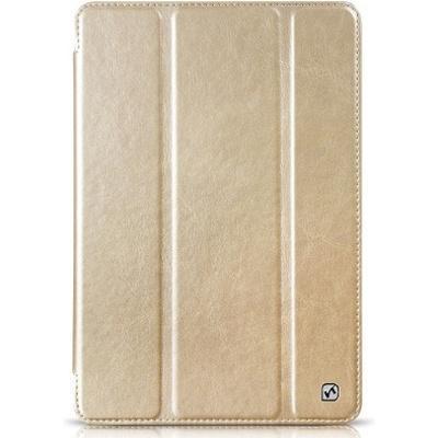 Чехол-книжка Hoco Crystal Series для Apple iPad mini 4 (искусственная кожа с подставкой) золтой