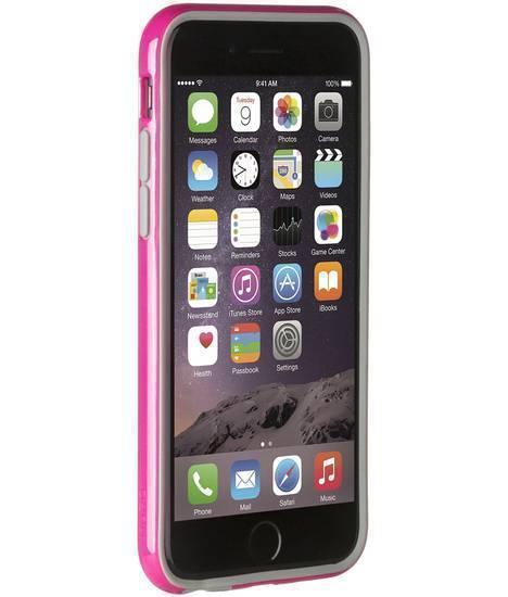 Чехол-бампер Puro Bumper Frame для Apple iPhone 6/6S розовый