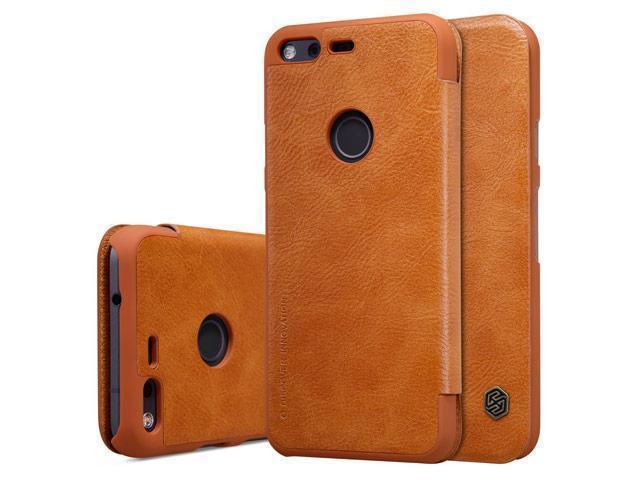 Чехол-книжка Nillkin QIN Leather Case для Google Pixel натуральная кожа коричневыйдля Google<br>Чехол-книжка Nillkin QIN Leather Case для Google Pixel натуральная кожа коричневый<br>