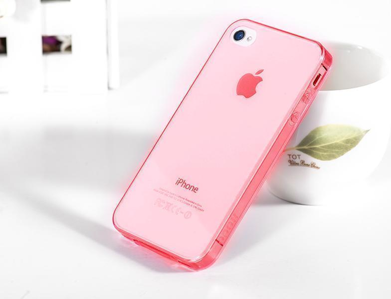 Чехол-накладка Hoco Ultra Thin Case для Apple iPhone 4/4S пластик краснаядля iPhone 4/4S<br>Чехол-накладка Hoco Ultra Thin Case для Apple iPhone 4/4S пластик красная<br>
