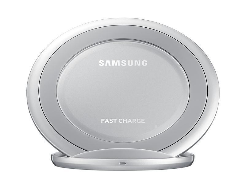 Беспроводное зарядное устройство Samsung Silver (EP-NG930BSRGRU)Сетевые зарядные устройства для смартфонов/планшетов<br>Беспроводное зарядное устройство Samsung Silver (EP-NG930BSRGRU)<br>