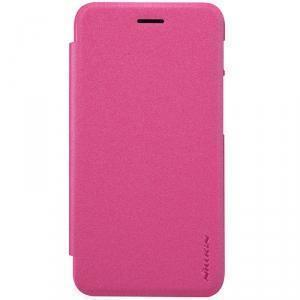 Чехол-книжка Nillkin Sparkle Series для Asus Padfone S (PF500KL) пластик-полиуретан (розовый)для ASUS<br>Чехол-книжка Nillkin Sparkle Series для Asus Padfone S (PF500KL) пластик-полиуретан (розовый)<br>