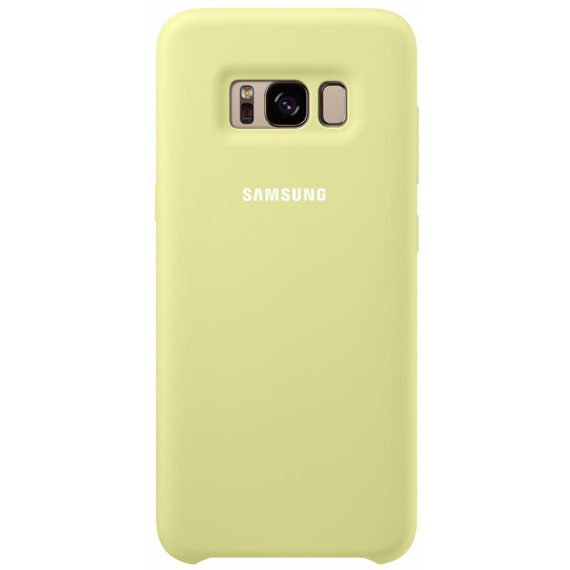 Чехол-накладка Samsung Silicone Cover для Galaxy S8+ силикон зеленый (EF-PG955TGEGRU)для Samsung<br>Чехол-накладка Samsung Silicone Cover для Galaxy S8+ силикон зеленый (EF-PG955TGEGRU)<br>