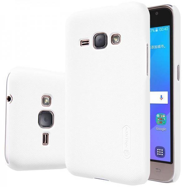 Чехол-накладка Nillkin Frosted Shield для Samsung Galaxy J1 (SM-J100 / SM-J110) пластиковый белыйдля Samsung<br>Чехол-накладка Nillkin Frosted Shield для Samsung Galaxy J1 (SM-J100 / SM-J110) пластиковый белый<br>