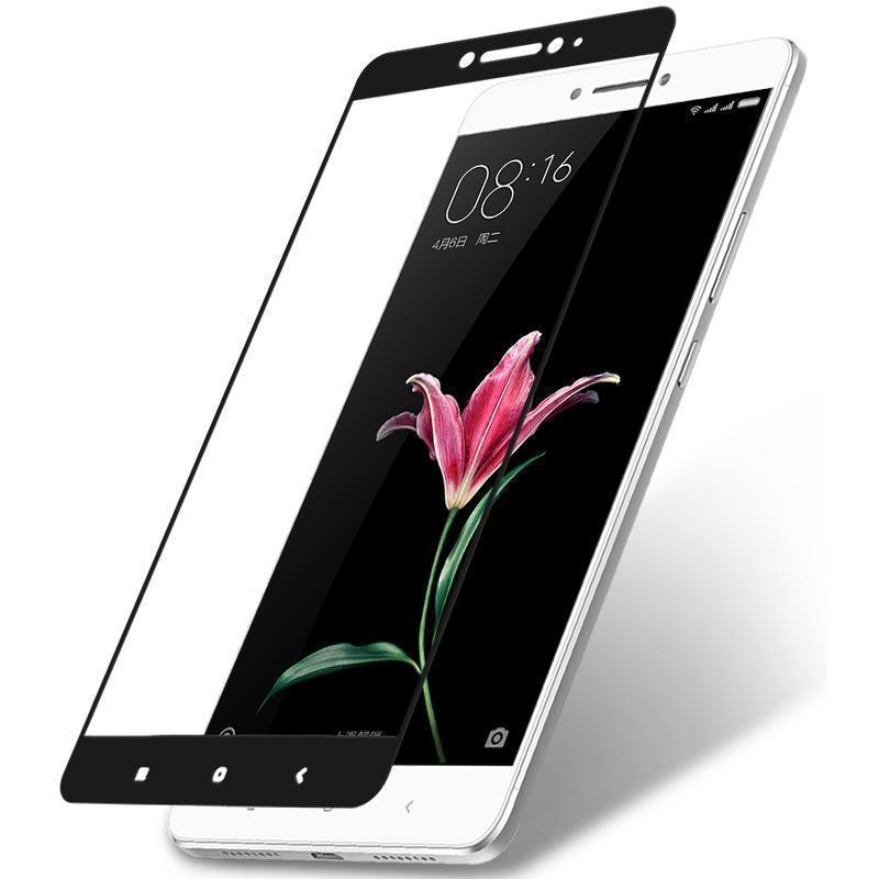 Защитное стекло Glass PRO (Full) Screen для Xiaomi Mi Max цветное (черная рамка) фото