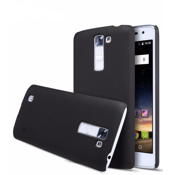 Чехол-накладка Nillkin Frosted Shield для LG K7 (X210DS) пластиковый черныйдля LG<br>Чехол-накладка Nillkin Frosted Shield для LG K7 (X210DS) пластиковый черный<br>