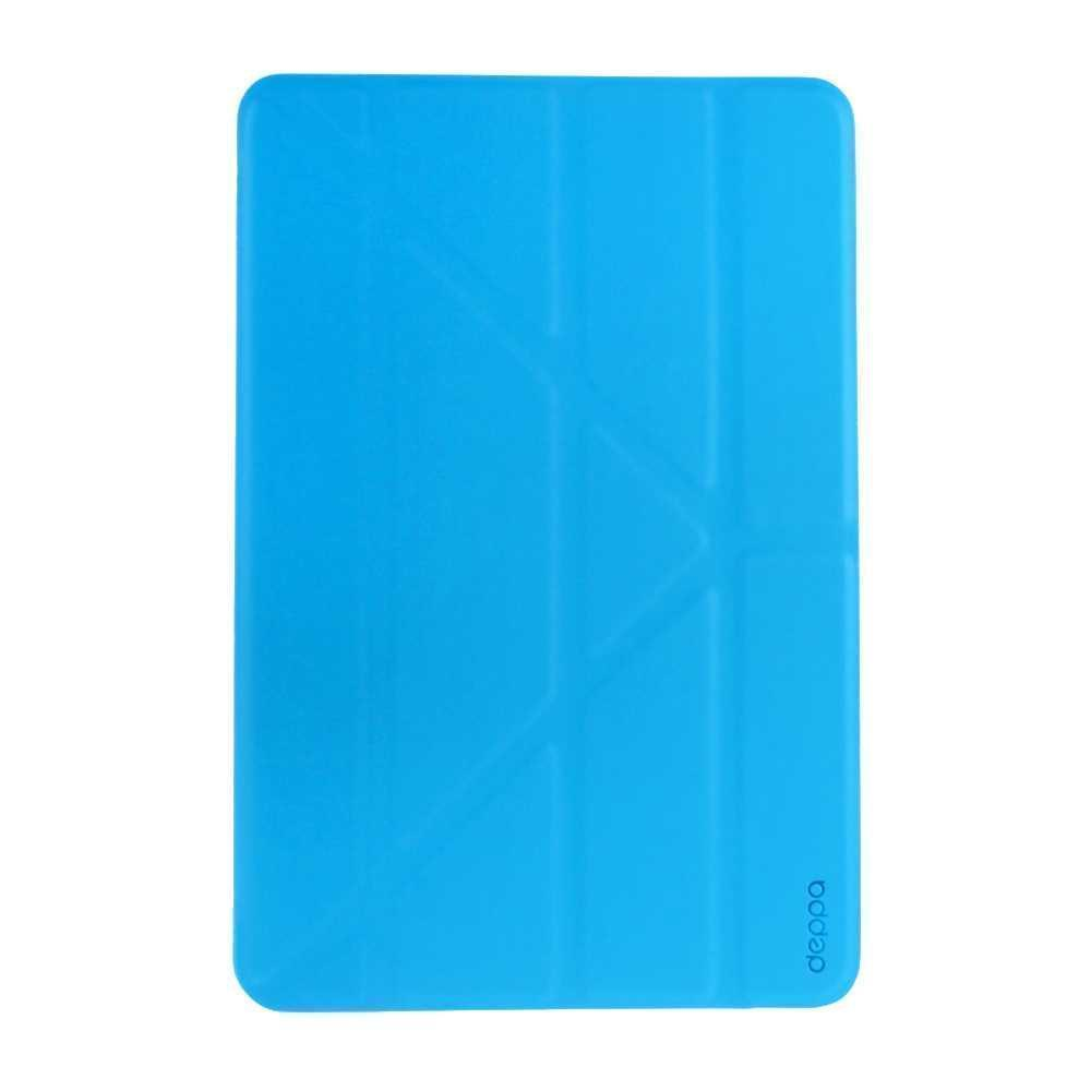 Чехол-книжка Deppa Wallet Onzo для Apple iPad mini 4 (искусственная кожа с подставкой) голубой