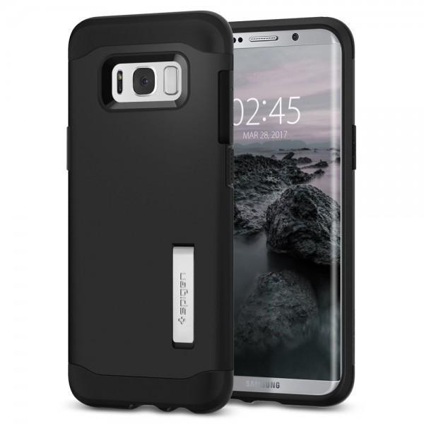 Чехол-накладка Spigen Slim Armor для Samsung Galaxy S8+ черный (SGP 571CS21122)для Samsung<br>Чехол-накладка Spigen Slim Armor для Samsung Galaxy S8+ черный (SGP 571CS21122)<br>