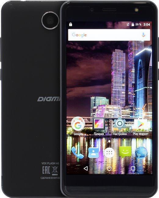 Digma Vox Flash 4G BlackDigma<br>Digma Vox Flash 4G Black<br>