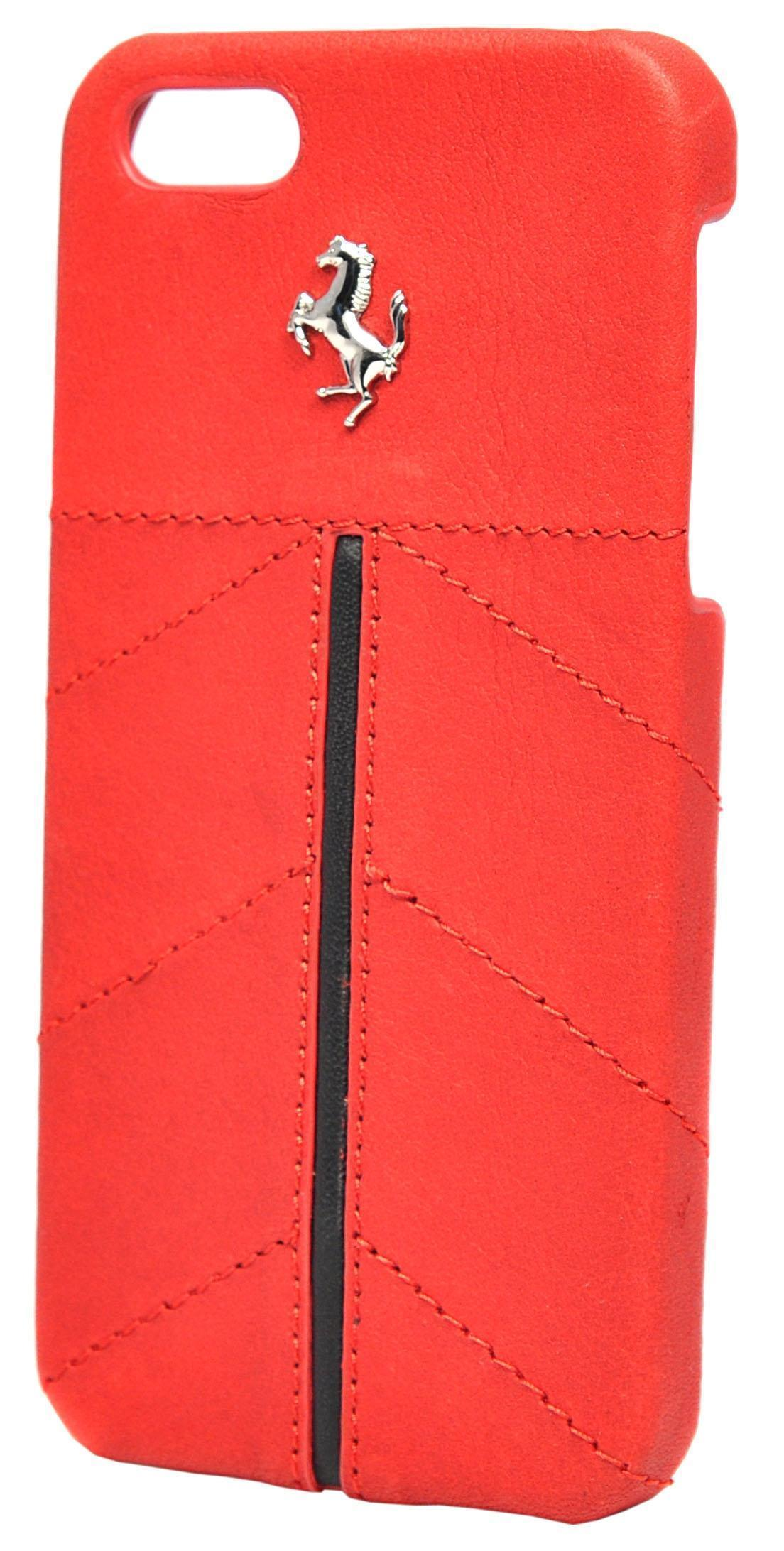 Чехол-накладка Ferrari California Hard для Apple iPhone SE/5S/5 Redдля iPhone 5/5S/SE<br>Чехол-накладка Ferrari California Hard для Apple iPhone SE/5S/5 Red<br>
