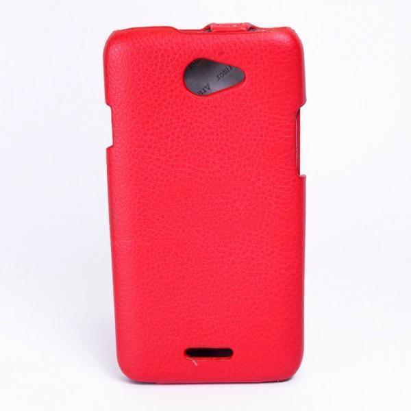 Чехол-книжка Armor Case для HTC Desire 516 Dual Sim искусственная кожа фуксия