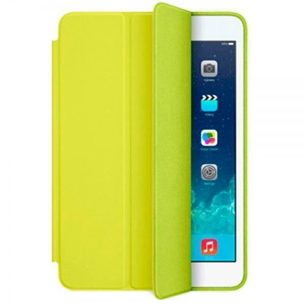 Чехол-книжка Smart Case для Apple iPad mini 4 (искусственная кожа с подставкой) желтыйдля Apple iPad mini 4<br>Чехол-книжка Smart Case для Apple iPad mini 4 (искусственная кожа с подставкой) желтый<br>
