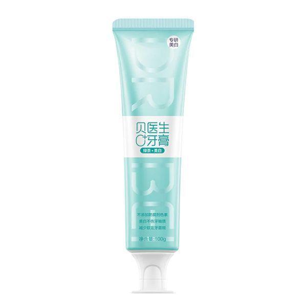 Купить Зубная паста Xiaomi Dr.Bei Toothpaste 0+ вкус зеленый чай 100g (mint green)