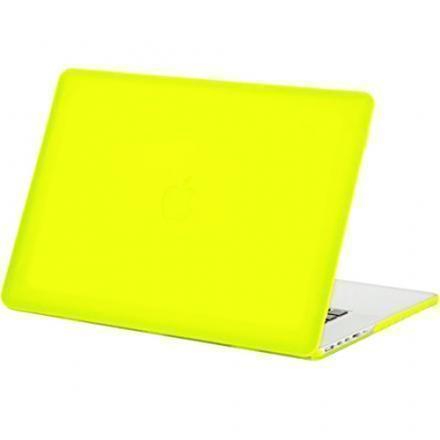 Чехол-накладка BTA-Workshop для Apple MacBook Pro 13 (2008-2011) матовая (прозрачно-желтый)