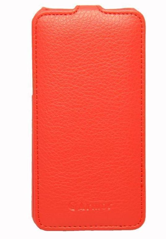 Чехол-книжка Armor для Apple iPhone 5C искуственная кожа (red)