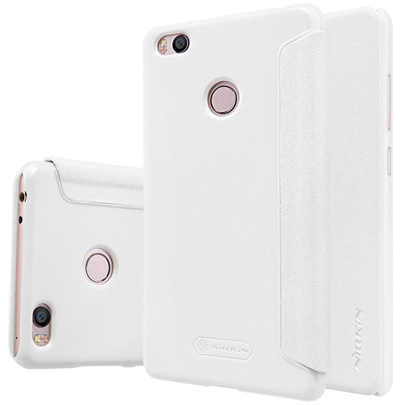 Чехол-книжка Nillkin Sparkle Series для Xiaomi Mi4s пластик-полиуретан (белый)для Xiaomi<br>Чехол-книжка Nillkin Sparkle Series для Xiaomi Mi4s пластик-полиуретан (белый)<br>