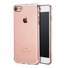 Чехол-накладка USAMS Kingsir Series Plated Hard для Apple iPhone 7/8 пластик (Rose Gold) фото