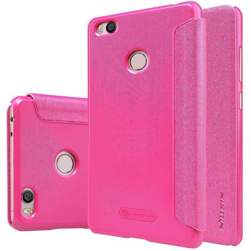 Чехол-книжка Nillkin Sparkle Series для Xiaomi Mi4s пластик-полиуретан (розовый)для Xiaomi<br>Чехол-книжка Nillkin Sparkle Series для Xiaomi Mi4s пластик-полиуретан (розовый)<br>