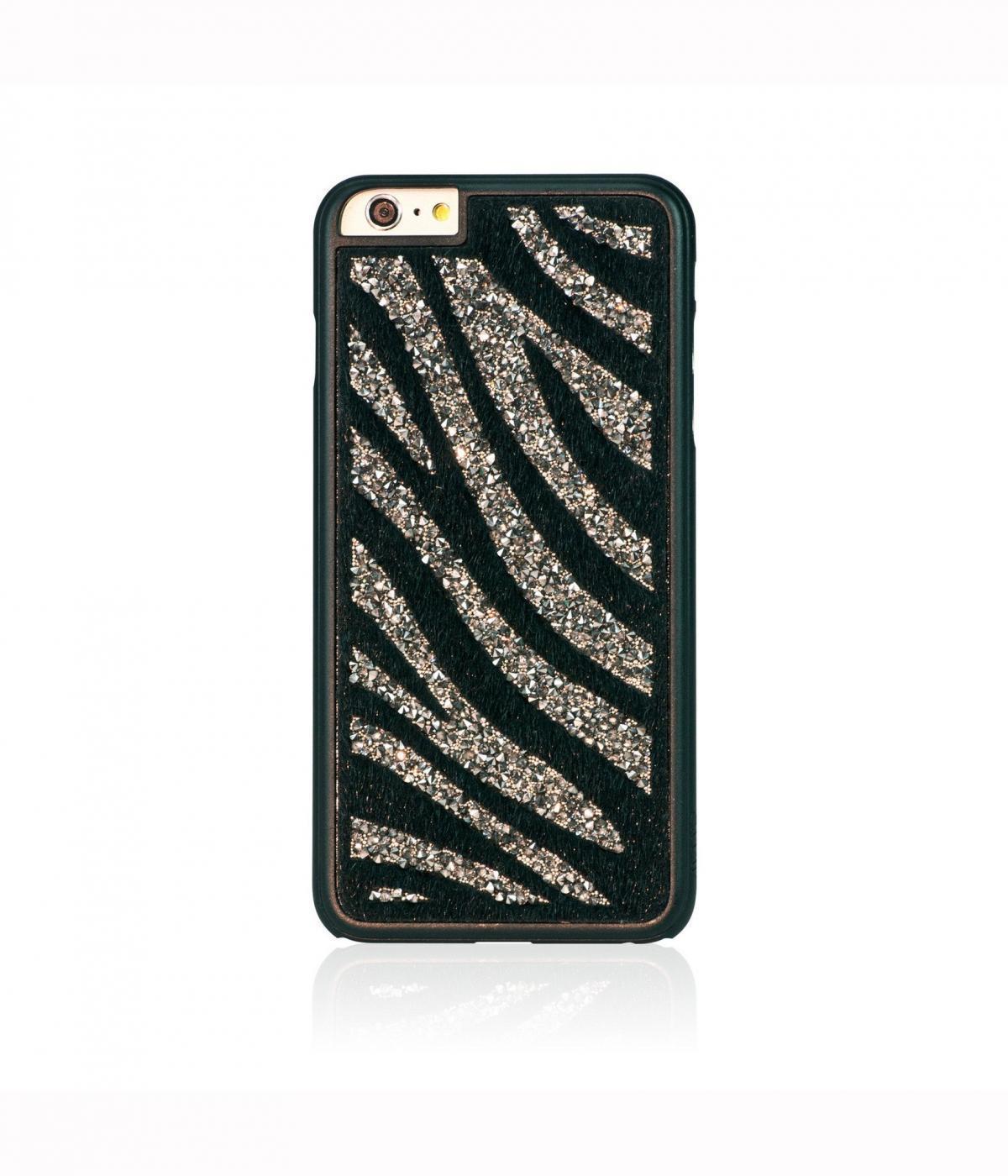 Чехол-накладка Bling My Thing Glam для Apple iPhone 6 Plus/6S Plus Glam Zebra Black Diamondдля iPhone 6 Plus/6S Plus<br>Чехол-накладка Bling My Thing Glam для Apple iPhone 6 Plus/6S Plus Glam Zebra Black Diamond<br>