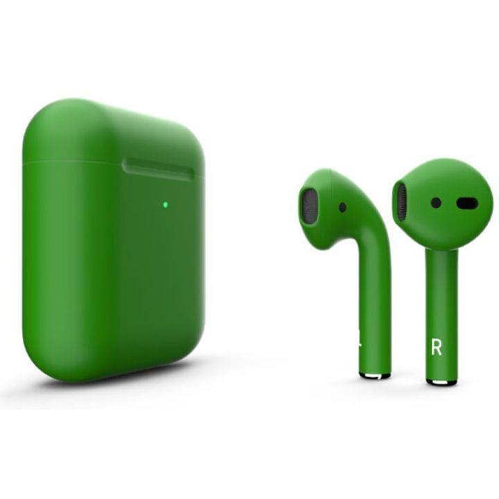 Беспроводная гарнитура Apple AirPods 2 (Matte Green)