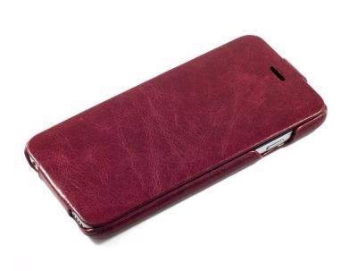 Чехол-книжка Hoco General Series Flip-Case для Apple iPhone 6/6S натуральная кожа Wine Red