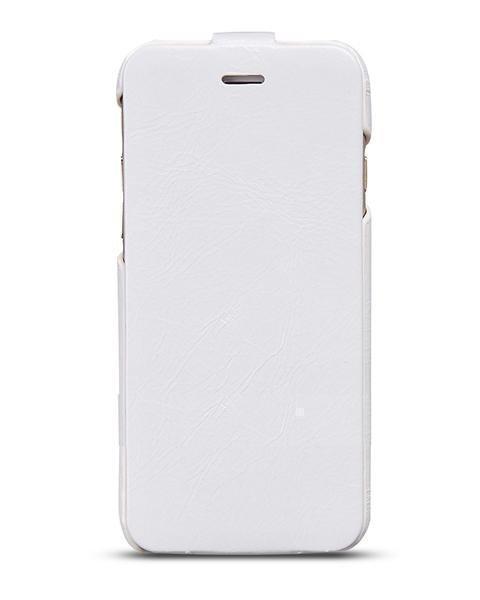 Чехол-книжка Hoco General Series Flip-Case для Apple iPhone 6/6S натуральная кожа White
