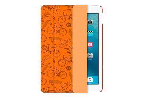 Чехол-книжка Deppa Wallet Onzo для Apple iPad Air 2 (искусственная кожа с подставкой) оранжевый