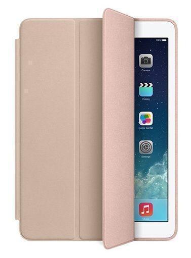 Чехол-книжка Smart Case для Apple iPad (2017) (искусственная кожа с подставкой) бежевый