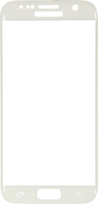 Защитное стекло Glass PRO (3D) Screen для Samsung Galaxy S7 (SM-G930) цветное белая рамкадля Samsung<br>Защитное стекло Glass PRO (3D) Screen для Samsung Galaxy S7 (SM-G930) цветное белая рамка<br>