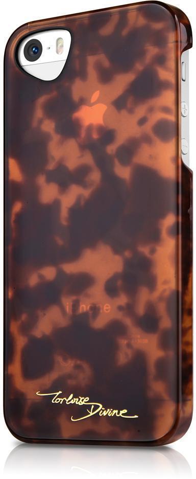 Чехол-накладка Itskins Tortoise Divine для Apple iPhone SE/5S/5 brown