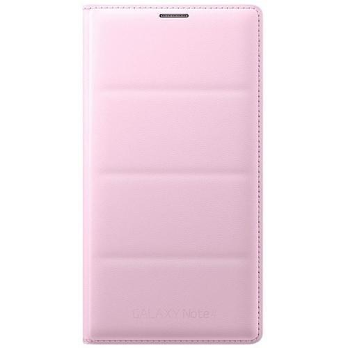 Чехол-книжка Samsung Flip Wallet для Galaxy Note 4 полиуретан, поликарбонат розовый (EF-WN910BPEGRU)для Samsung<br>Чехол-книжка Samsung Flip Wallet для Galaxy Note 4 полиуретан, поликарбонат розовый (EF-WN910BPEGRU)<br>