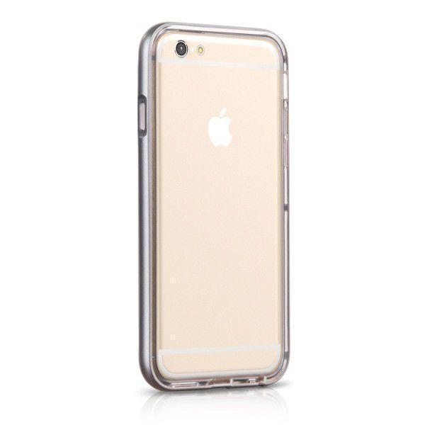 Чехол-накладка Hoco Steel Series Call Flash для Apple iPhone 6/6S пластик/силикон Grayдля iPhone 6/6S<br>Чехол-накладка Hoco Steel Series Call Flash для Apple iPhone 6/6S пластик/силикон Gray<br>