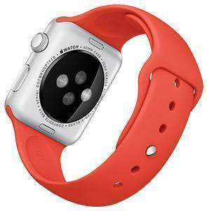 Ремешок силиконовый Rock Sport Band для Apple Watch Series 1/2 42мм redРемешки и браслеты для умных часов Apple<br>Ремешок силиконовый Rock Sport Band для Apple Watch Series 1/2 42мм red<br>