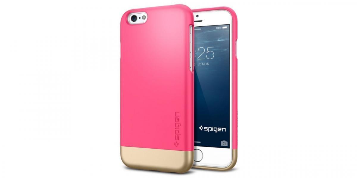 Чехол-накладка Spigen Style Armor для Apple iPhone 6/6S Azalea Pink (SGP11045)для iPhone 6/6S<br>Чехол-накладка Spigen Style Armor для Apple iPhone 6/6S Azalea Pink (SGP11045)<br>