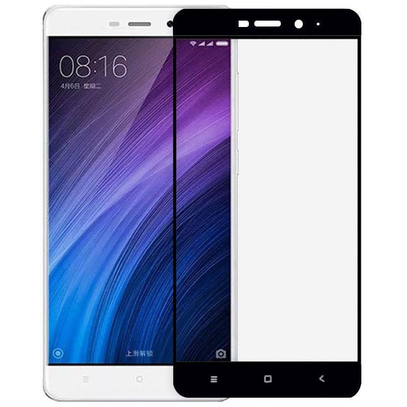 Защитное стекло Glass PRO (Full) Screen для Xiaomi Redmi 4 Prime / 4 Pro цветное черная рамкадля Xiaomi<br>Защитное стекло Glass PRO (Full) Screen для Xiaomi Redmi 4 Prime / 4 Pro цветное черная рамка<br>