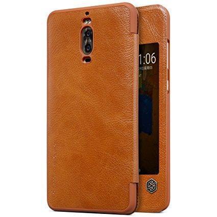 Чехол-книжка Nillkin QIN Leather Case для Huawei Mate 9 /Mate 9 Dual sim натуральная кожа коричневыйдля Huawei<br>Чехол-книжка Nillkin QIN Leather Case для Huawei Mate 9 /Mate 9 Dual sim натуральная кожа коричневый<br>